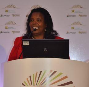 Professor Olive Mugenda, Vice Chancellor of Kenyatta University