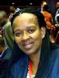 Above: Bongiwe Nomandi Njobe - Executive Director at Tiger Brands Ltd and RUFORUM Board Member