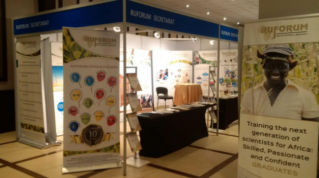 RUFORUM Exhibitions during the FARA @15 Celebrations