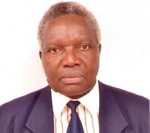 Above: Prof. Fabian Moding Esamai Professor of Child health and paediatrics &     Principal, College of Health Sciences, Moi University