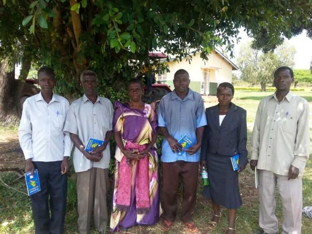 Above: Farmers Workshop in Hoima District, Uganda