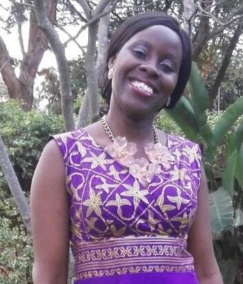 Above: Sarah A.O. Wa-Mwenje
