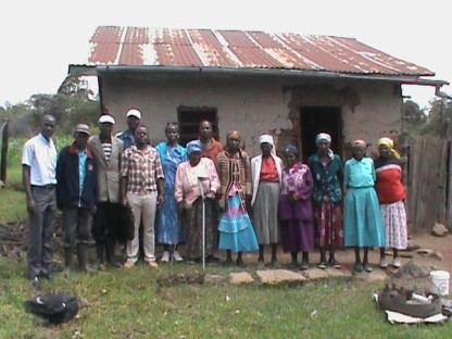 Members of Matangauta Farmers Self Help Group, Kihingo, that have benefitted from AgriFresh Supplies