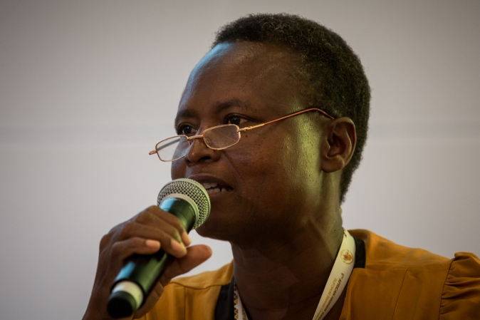 Mrs. Norah Asio Ebukalin, Farmer from Popular Women's Knowledge Initiative (P'KWI) in Uganda
