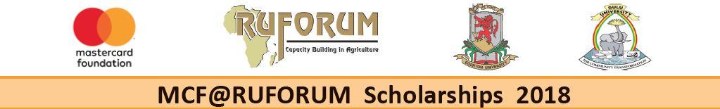 Apply Now: MCF@RUFORUM Scholarships 2018   RUFORUM