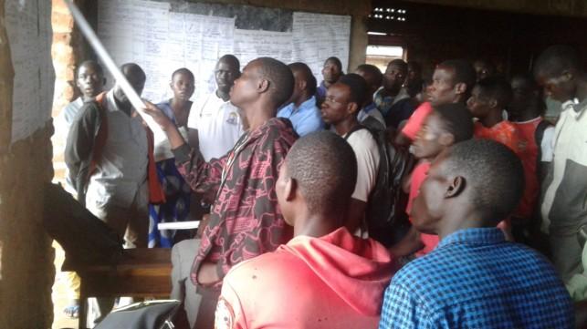 Gulu-Bobi Training session